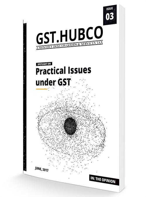 Hubco GST Magazine Cover Page